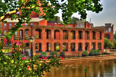 Photograph - The Old Mill Walls Reedy River Falls Park Greenville South Carolina Art by Reid Callaway