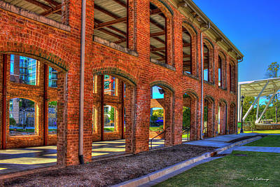 Photograph - The Old Mill Wedding Venue Greenville South Carolina Art by Reid Callaway