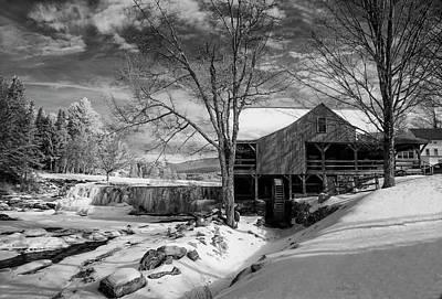 The Old Mill - Weston, Vermont Art Print