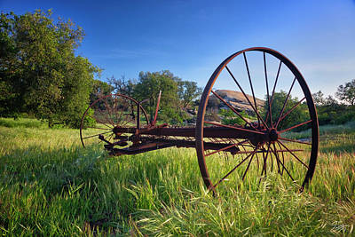 Photograph - The Old Mower 2 by Endre Balogh