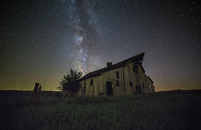 Photograph - The Old Nelson Place by Aaron J Groen