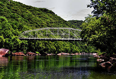 Photograph - The Old New River Gorge Bridge 001 by George Bostian