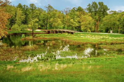 Photograph - The Old North Bridge  -  Oldnorthbridgeconcordlaborto184779 by Frank J Benz