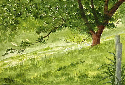 Painting - The Old Oak Tree by Rich Stedman