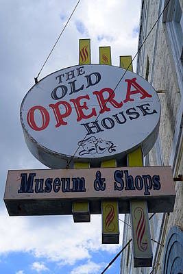 Photograph - The Old Opera House by Laurie Perry