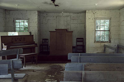 Photograph - The Old Page Church by Kathy Barney