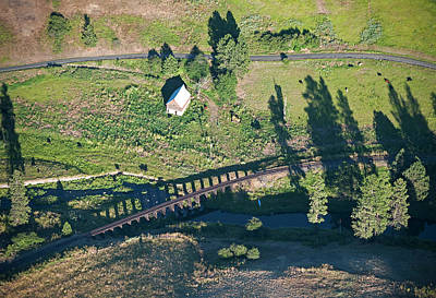 Photograph - The Old Palouse Line. by Doug Davidson