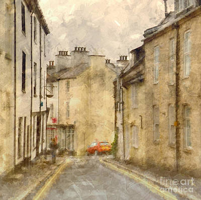 The Old Part Of Town Art Print