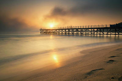 Photograph - The Old Pier by Plamen Petkov