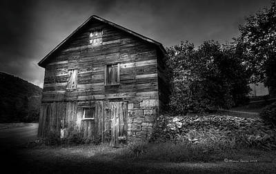 Barnyard Photograph - The Old Place by Marvin Spates
