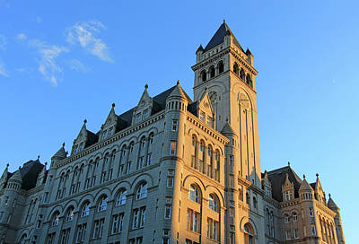 Photograph - The Old Post Office But Not Its Tower Is Now A Trump Hotel by Cora Wandel