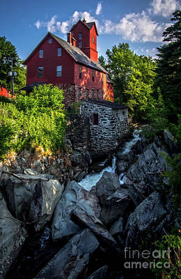 Photograph - The Old Red Mill by James Aiken