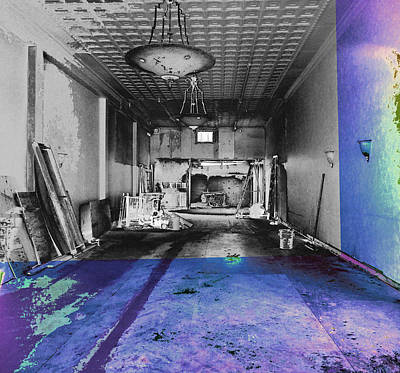 Photograph - The Old Restaurant by David Pantuso