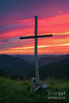 Photograph - The Old Rugged Cross by Anthony Heflin