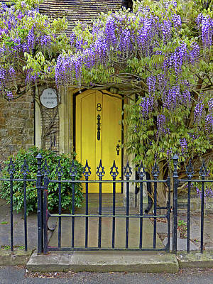 Photograph - The Old School House Door by Gill Billington