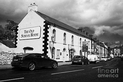 Old School House Photograph - the old school house tourist information office mill street Cushendall County Antrim Northern Ireland UK by Joe Fox