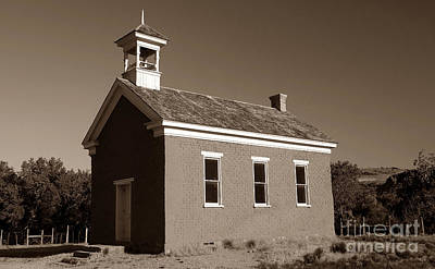 The Old Schoolhouse Art Print by David Lee Thompson