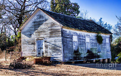 Photograph - The Old Schoolhouse by Roberta Byram