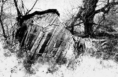 Photograph - The Old Shed by Jim Vance