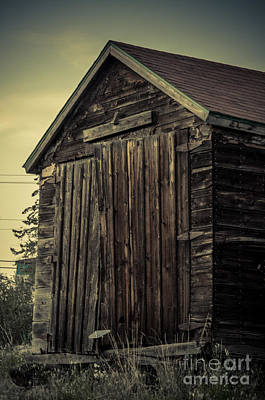 Yellowknife Photograph - The Old Shed by Lisa Killins