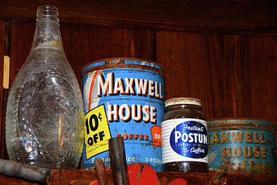 Photograph - The Old Shelf Stuff by David Lee Thompson