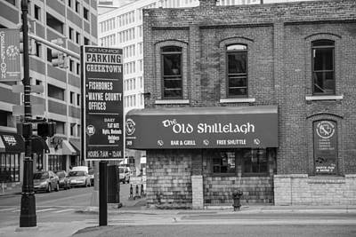 Photograph - The Old Shillelagh Black And White  by John McGraw