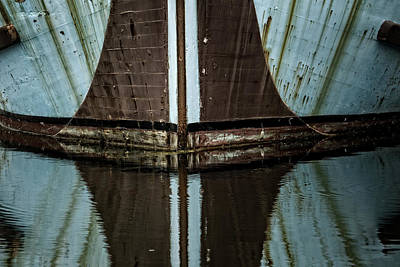 Photograph - The Old Ship by Inge Riis McDonald