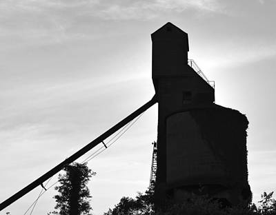 Photograph - The Old Silo by David Lee Thompson