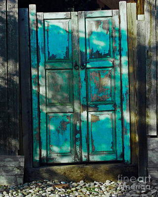Photograph - The Old Spanish Door by Tim Richards