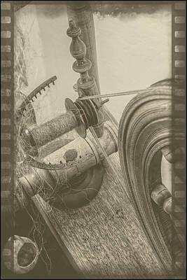Homemade Photograph - The Old Spinning Wheel by LeeAnn McLaneGoetz McLaneGoetzStudioLLCcom
