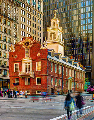 Photograph - The Old State House 363 by Jeff Stallard