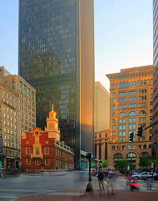 Photograph - The Old State House 364 by Jeff Stallard