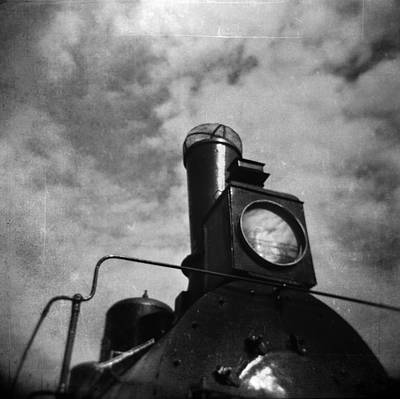 Photograph - The Old Steam Locomotive  #6 by Andrey  Godyaykin
