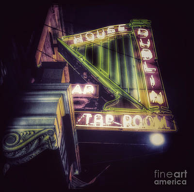 Photograph - The Old Tap Room - Dublin House Bar by Miriam Danar