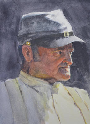 Painting - The Old Timer by Armand Cabrera