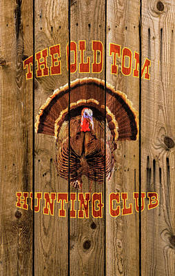 Turkey Photograph - The Old Tom Hunting Club No. 3 by TL Mair
