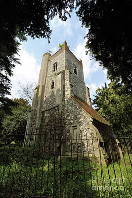 Photograph - The Old Tower Of St Marys Church Ewell by Julia Gavin