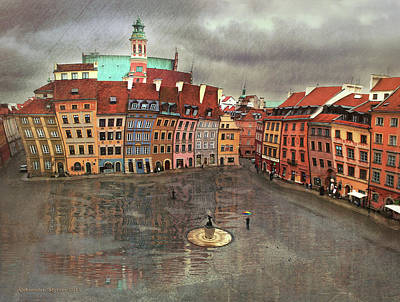 Photograph - The Old Town # 24 by Aleksander Rotner