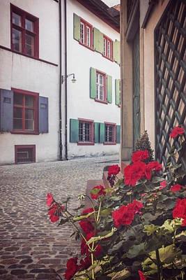 Basel Photograph - The Old Town by Carol Japp