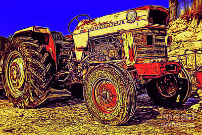 Photograph - The Old Tractor 14418 by Ray Shrewsberry
