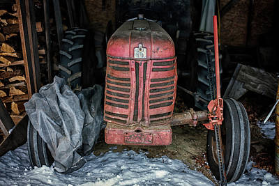 Photograph - The Old Tractor by Rick Berk