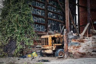 Photograph - The Old Train Depot by Mark Guinn