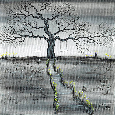 Painting - The Old Tree by Kenneth Clarke