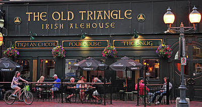 The Old Triangle Alehouse Art Print by Glenn Gordon