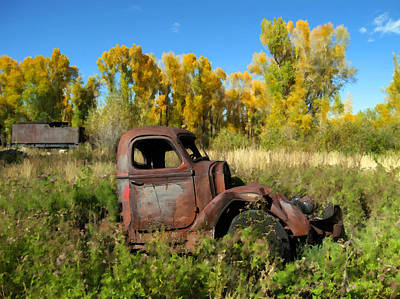 Photograph - The Old Truck  Chama New Mexico by Kurt Van Wagner