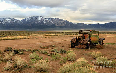Photograph - The Old Truck by Robert Bales