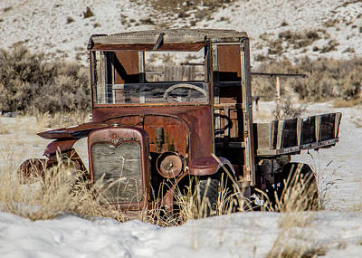 Photograph - The Old Truck by Teresa Wilson