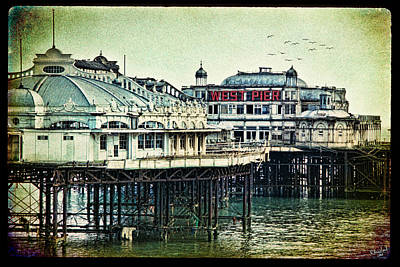 Photograph - The Old Victorian West Pier by Chris Lord