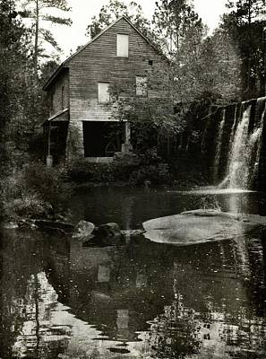 Photograph - The Old Water Mill by Sue McGlothlin