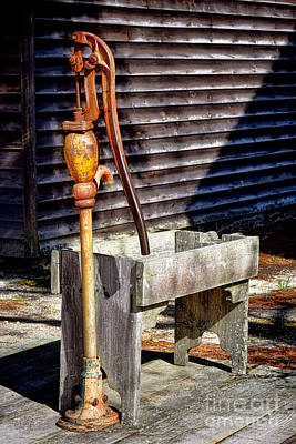 Photograph - The Old Water Pump by Olivier Le Queinec